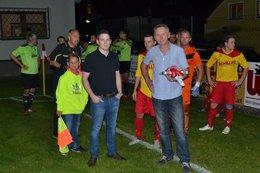 Patronanz Thomas Hobegger - Match gegen Gr. Pertholz